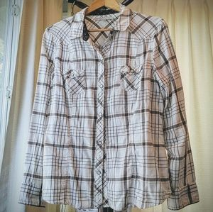 Old Navy snap button shirt